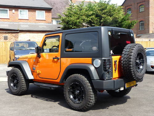 JEEP WRANGLER RUBICON 3.6 V6 SWB - LHD + 2012 SOLD (picture 3 of 6)