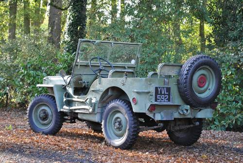 1942 Jeep GPW War Time Classic Car Scripted Body SOLD (picture 4 of 6)