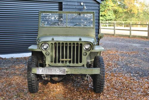 1942 Jeep GPW War Time Classic Car Scripted Body SOLD (picture 5 of 6)