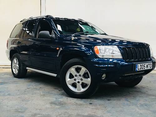 2005 jeep grand cherokee 4.7 v8 limited - export car? africa SOLD (picture 1 of 6)