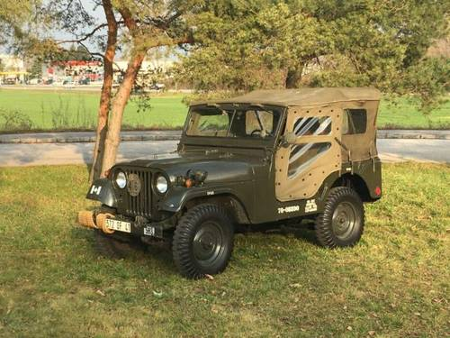 Jeep Willis 6/1971, M38A1-CDN3 For Sale (picture 1 of 6)