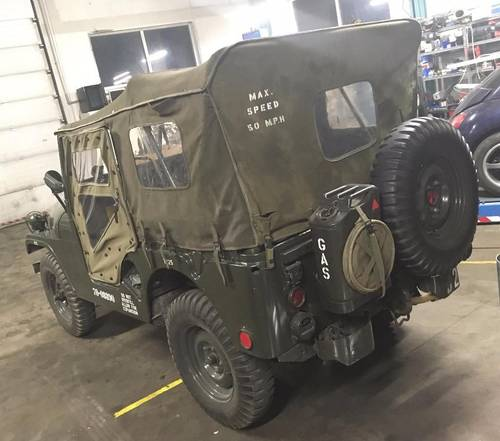 Jeep Willis 6/1971, M38A1-CDN3 For Sale (picture 2 of 6)