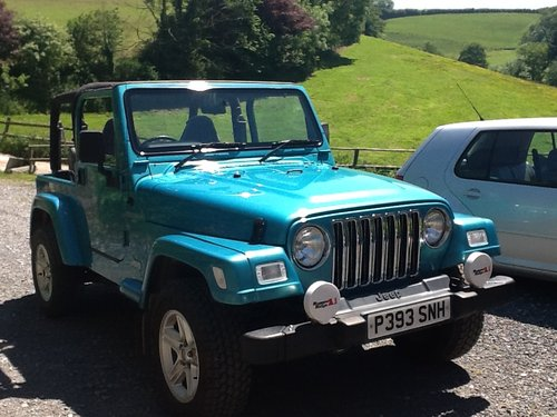 1997 Jeep Wrangler 4 Litre Sport For Sale (picture 1 of 6)