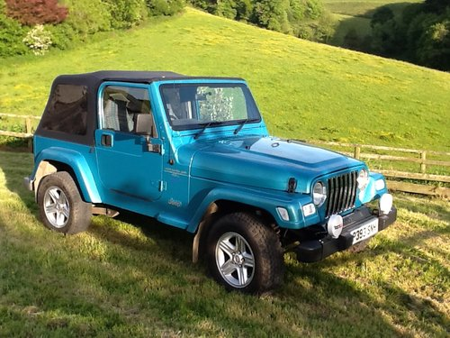 1997 Jeep Wrangler 4 Litre Sport For Sale (picture 2 of 6)