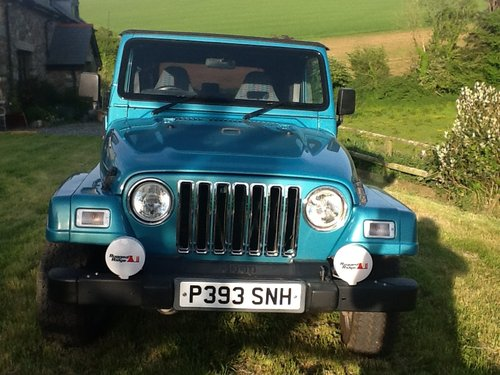 1997 Jeep Wrangler 4 Litre Sport For Sale (picture 5 of 6)