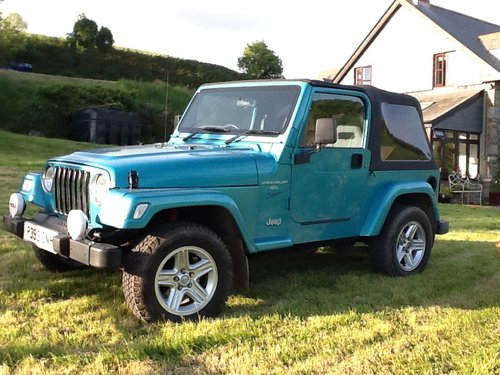 1997 Jeep Wrangler 4 Litre Sport For Sale (picture 6 of 6)