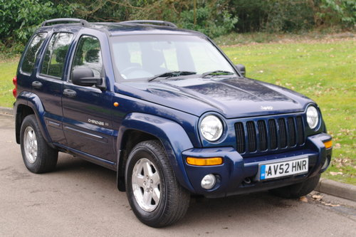 2002 Jeep Cherokee 2.5 CRD Limited.. BARGAIN TO CLEAR £450.. SOLD (picture 1 of 6)