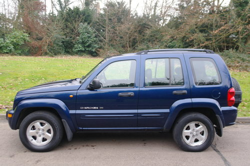 2002 Jeep Cherokee 2.5 CRD Limited.. BARGAIN TO CLEAR £450.. SOLD (picture 2 of 6)