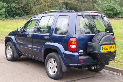 2002 Jeep Cherokee 2.5 CRD Limited.. BARGAIN TO CLEAR £450.. SOLD (picture 6 of 6)