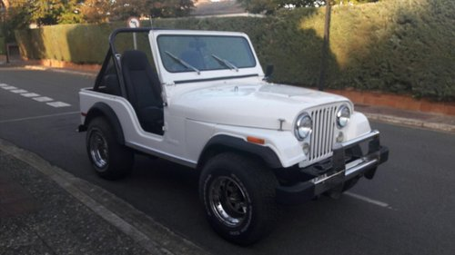 Jeep CJ5 1980 Located in Spain For Sale (picture 1 of 6)