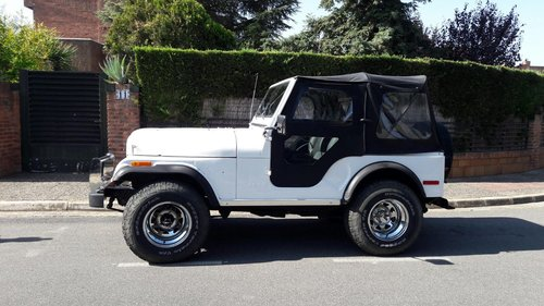 Jeep CJ5 1980 Located in Spain For Sale (picture 4 of 6)