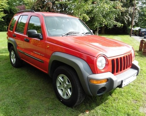 2004 4x4 jeep cherokee crd diesel 2.8 For Sale (picture 1 of 1)