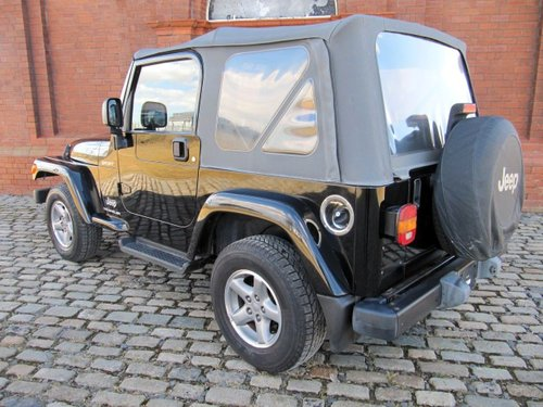 2005 WRANGLER SPORT SOFT TOP CONVERTIBLE 4.0 AUTO 63000 MILES  For Sale (picture 2 of 6)