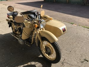 MT11 650 sidecar outfit