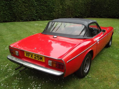 1974 JENSEN HEALEY SPORTS CONVERTIBLE SOLD (picture 2 of 6)