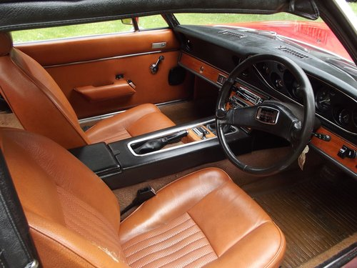 1974 JENSEN HEALEY SPORTS CONVERTIBLE SOLD (picture 4 of 6)