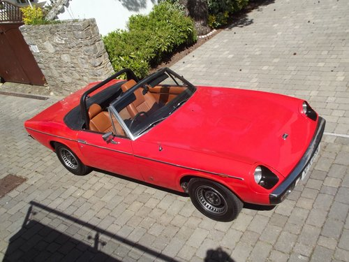 1974 JENSEN HEALEY SPORTS CONVERTIBLE SOLD (picture 1 of 6)