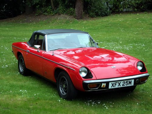 1974 JENSEN HEALEY SPORTS CONVERTIBLE SOLD (picture 6 of 6)