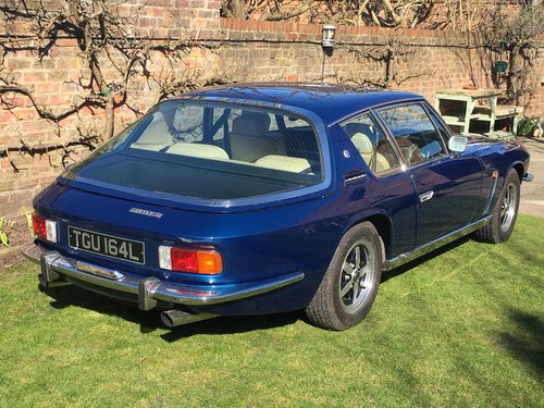 1973 Jensen Interceptor Mk3 59000 miles from new SOLD (picture 4 of 6)