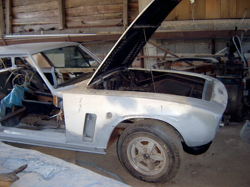 1972 Abandoned project Jensen Interceptor  SOLD (picture 1 of 6)