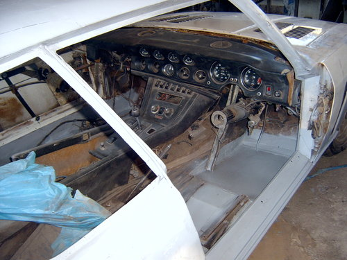 1972 Abandoned project Jensen Interceptor  SOLD (picture 5 of 6)