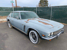 1971 Jensen Interceptor = Project Rare Ice Blue Cali $16.5k