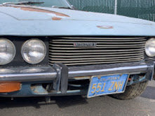 1971 Jensen Interceptor = Project Rare Ice Blue Cali $16.5k For Sale (picture 2 of 6)