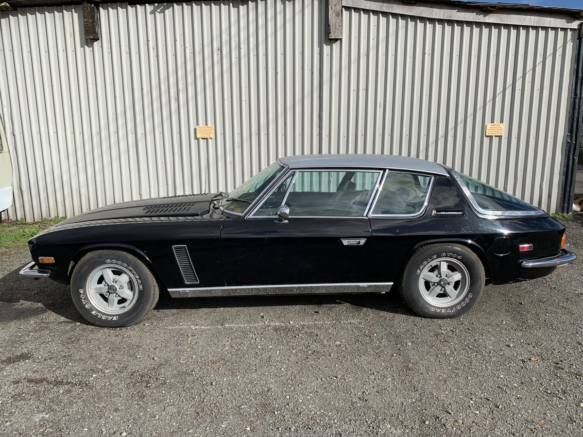 1975 JENSEN INTERCEPTOR LHD  SOLD (picture 2 of 6)