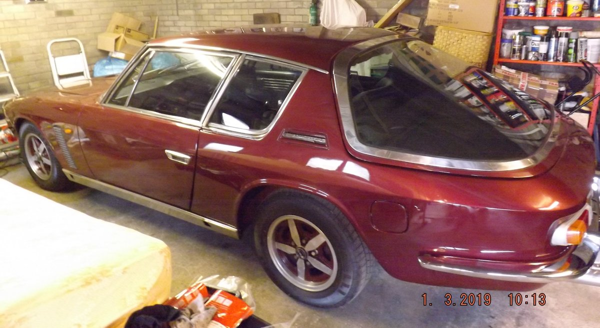 1969 Jensen Interceptor 11 6276cc Automatic For Sale (picture 1 of 6)