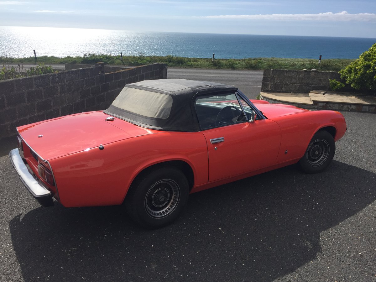 1973 Recently restored Jensen Healey Mk1 SOLD (picture 2 of 6)