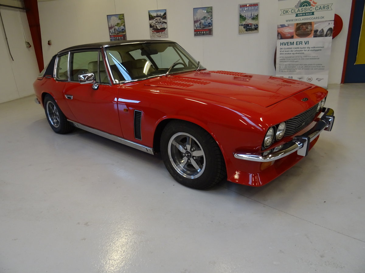 1974 Jensen Interceptor Mark III Series 4 Sports Saloon For Sale (picture 1 of 6)