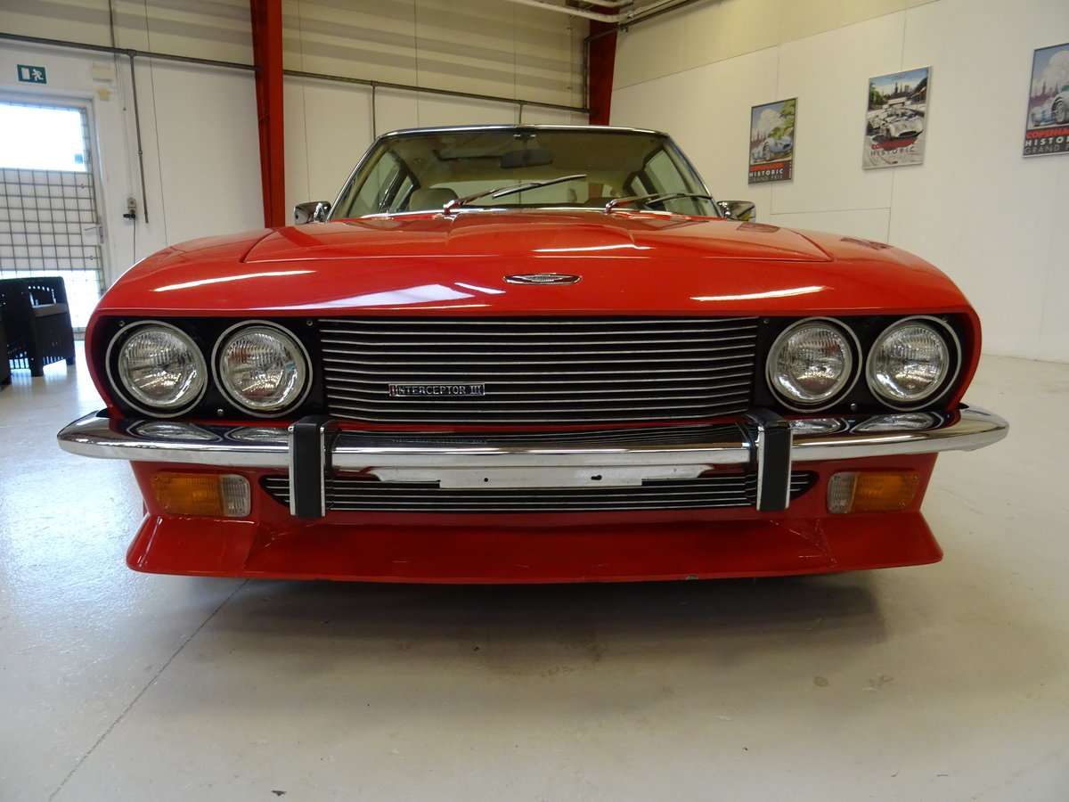 1974 Jensen Interceptor Mark III Series 4 Sports Saloon For Sale (picture 2 of 6)