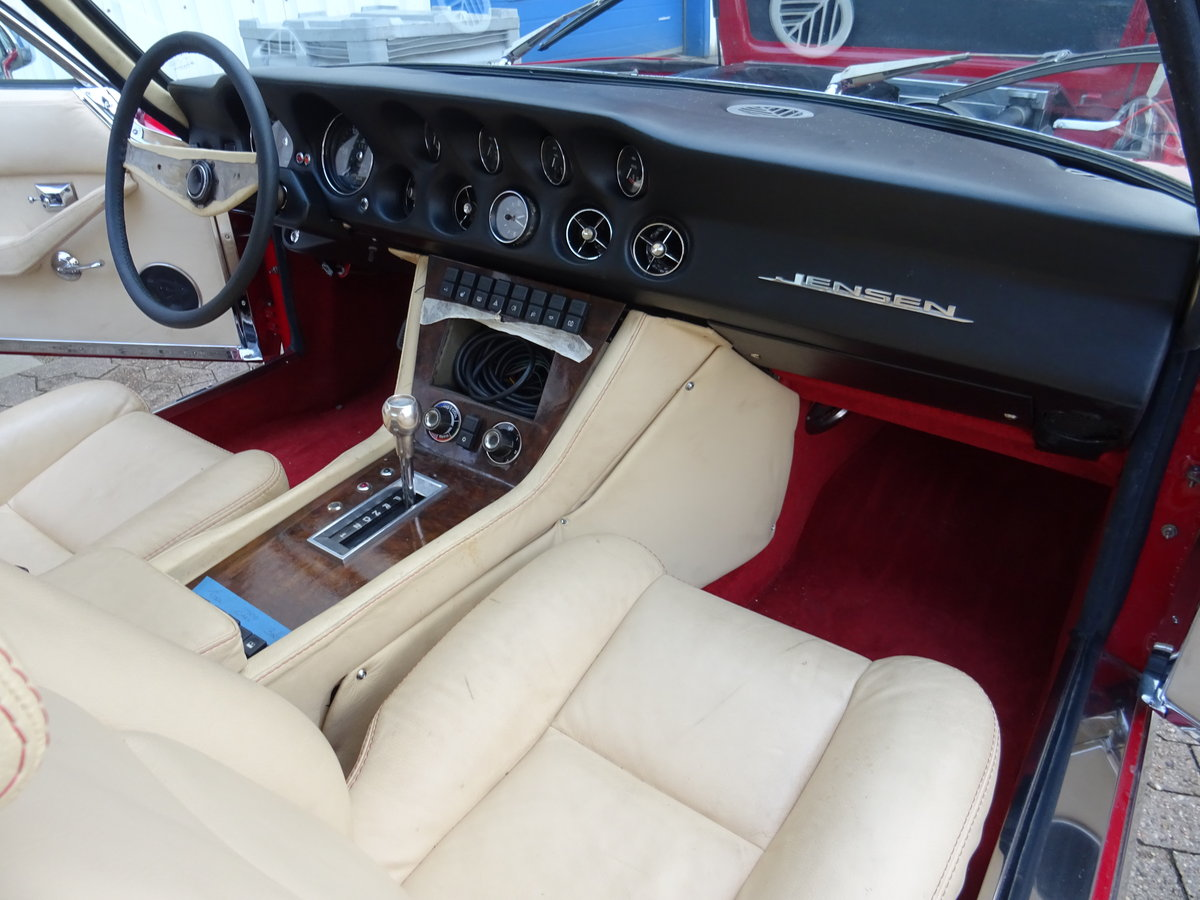 1974 Jensen Interceptor Mark III Series 4 Sports Saloon For Sale (picture 5 of 6)