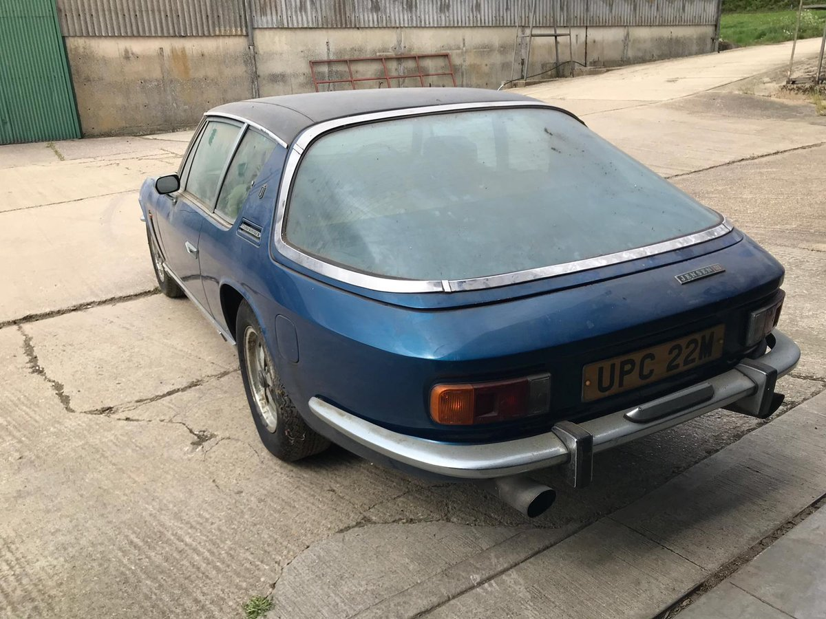 1974 JENSEN INTERCEPTOR MK III **** SOLD **** For Sale by Auction (picture 2 of 6)