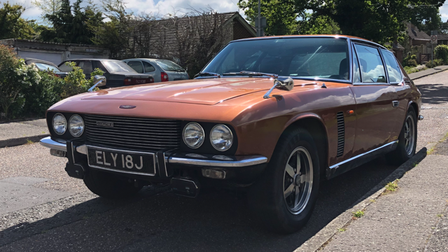 1970 Jensen Interceptor MK11 Older Restoration MOT'd SOLD (picture 1 of 6)