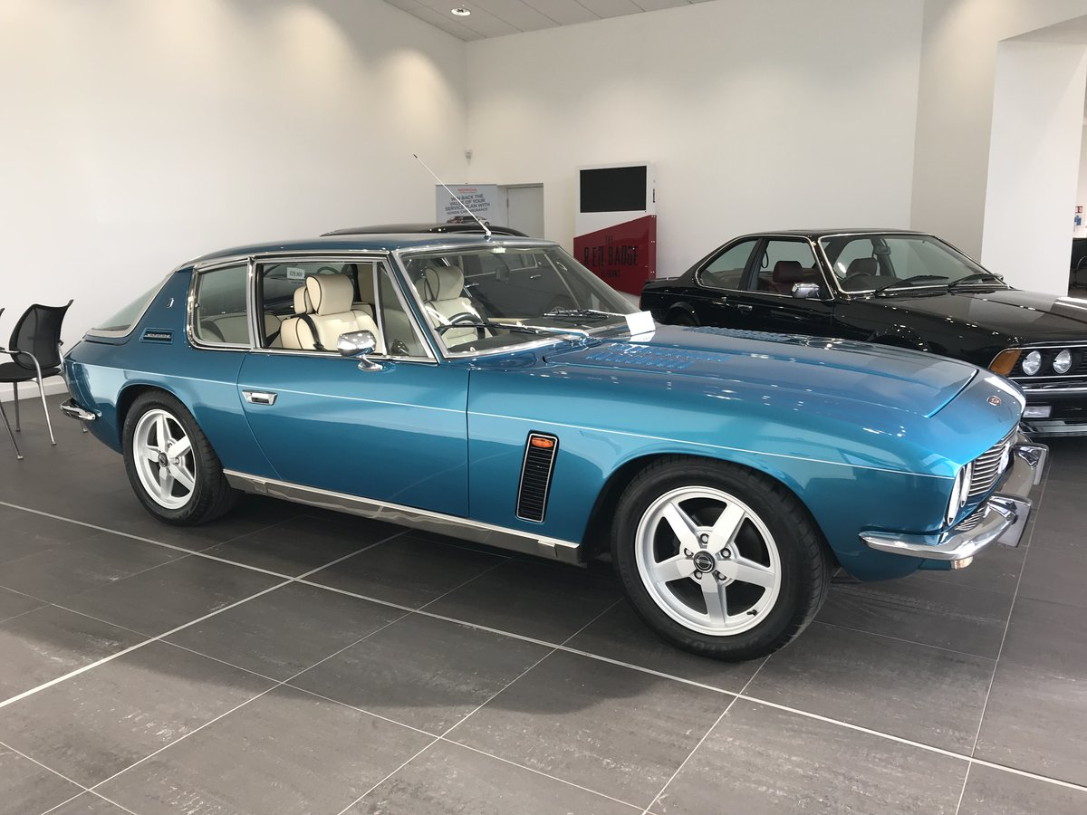 1975 Jensen Interceptor Last Owner for over 40 Years SOLD (picture 1 of 6)