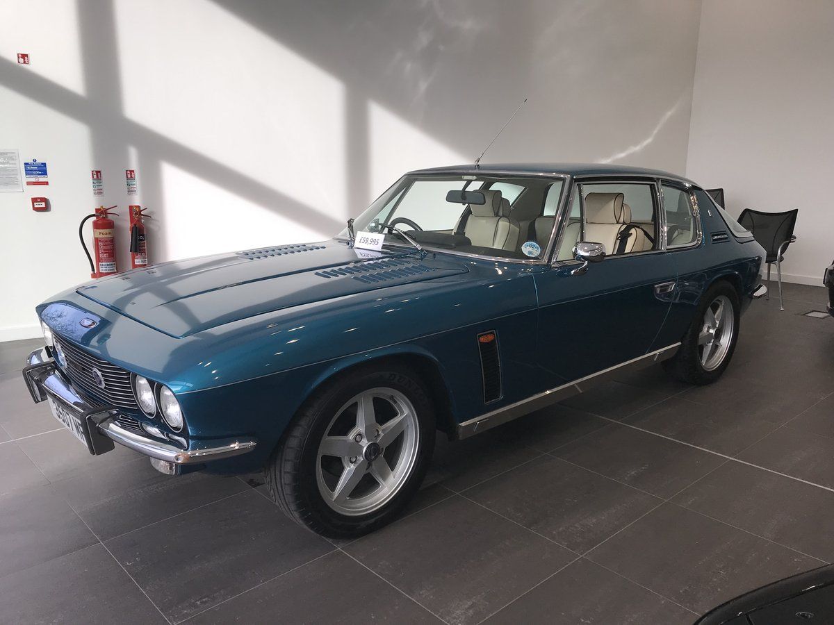 1975 Jensen Interceptor Last Owner for over 40 Years SOLD (picture 2 of 6)