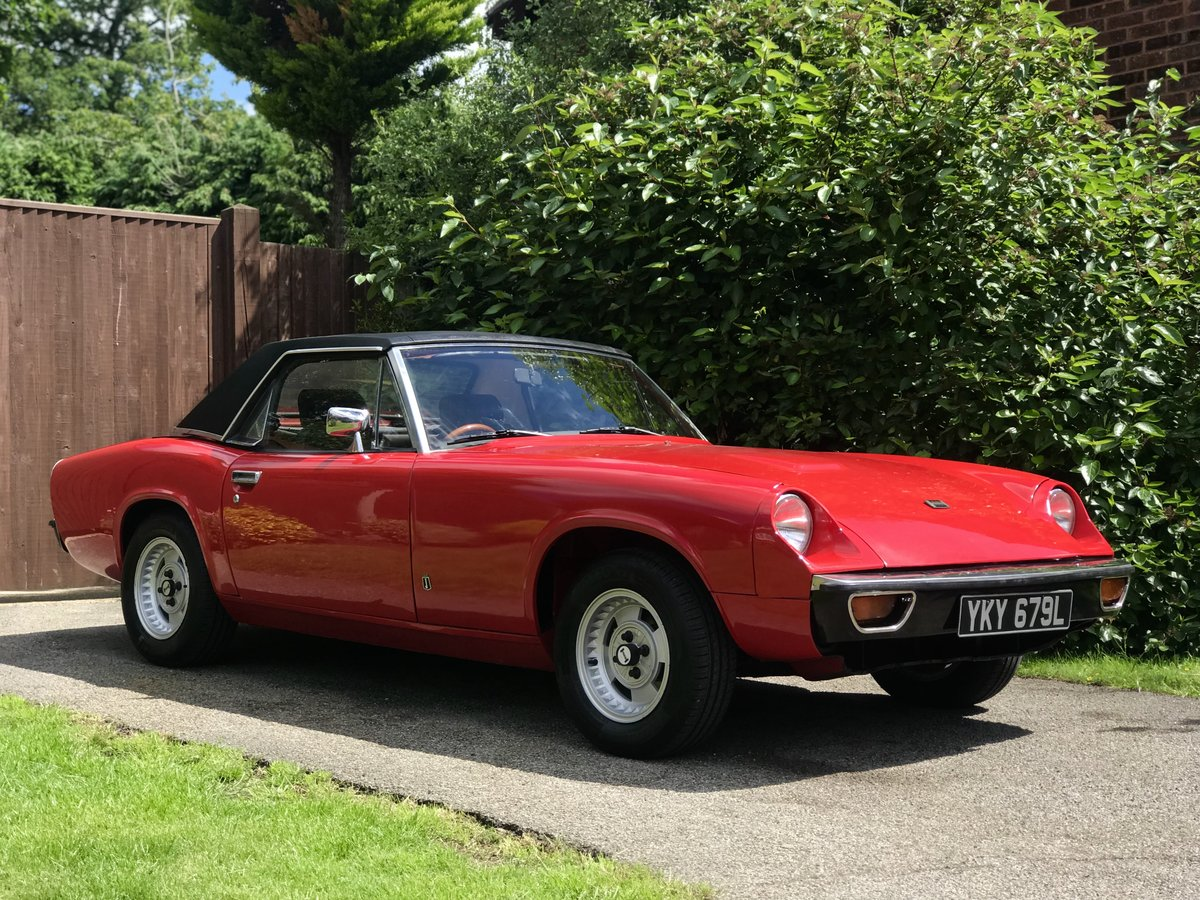 Jensen Healey MK1 1972 vehicle no535 Lotus 907 For Sale (picture 1 of 6)