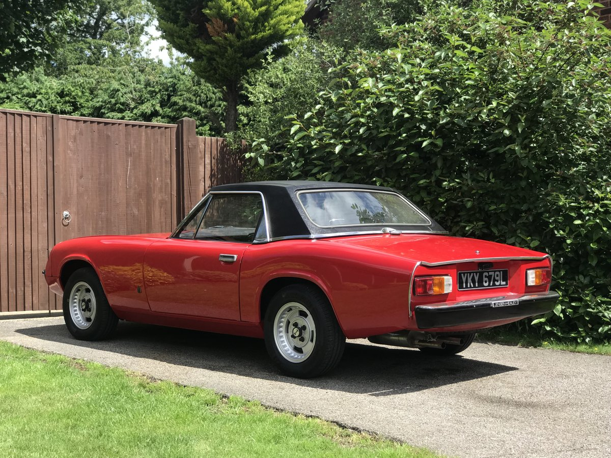 Jensen Healey MK1 1972 vehicle no535 Lotus 907 For Sale (picture 2 of 6)