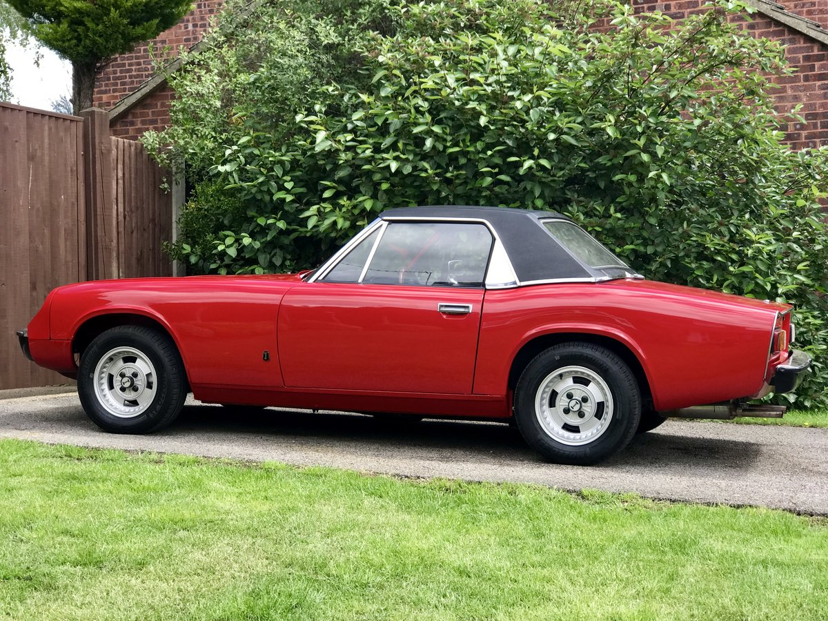 Jensen Healey MK1 1972 vehicle no535 Lotus 907 For Sale (picture 3 of 6)