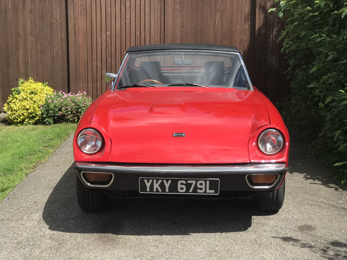 Jensen Healey MK1 1972 vehicle no535 Lotus 907 For Sale (picture 4 of 6)