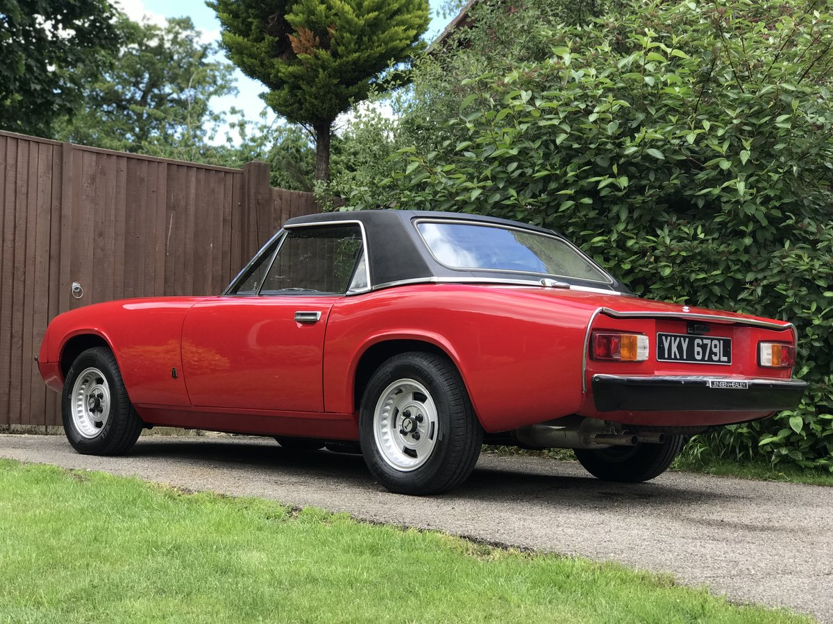 Jensen Healey MK1 1972 vehicle no535 Lotus 907 For Sale (picture 5 of 6)