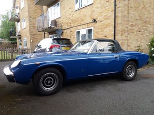 1974 Jensen Healey for Auction Friday 12th July SOLD by Auction