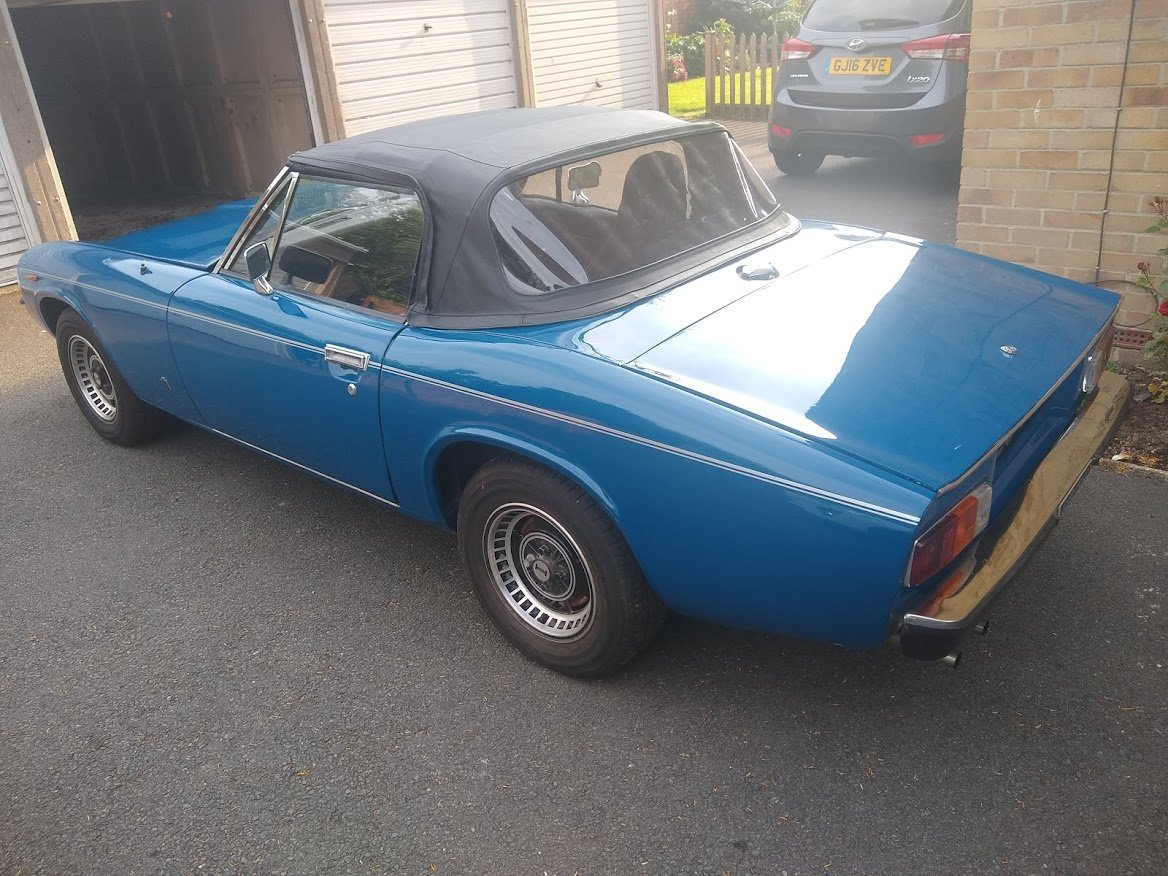 1974 Jensen Healey for Auction Friday 12th July SOLD by Auction (picture 2 of 6)