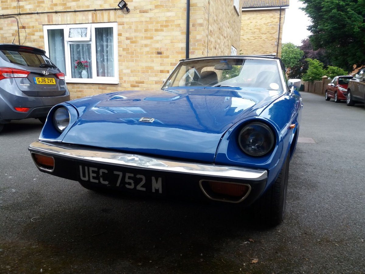1974 Jensen Healey for Auction Friday 12th July SOLD by Auction (picture 3 of 6)