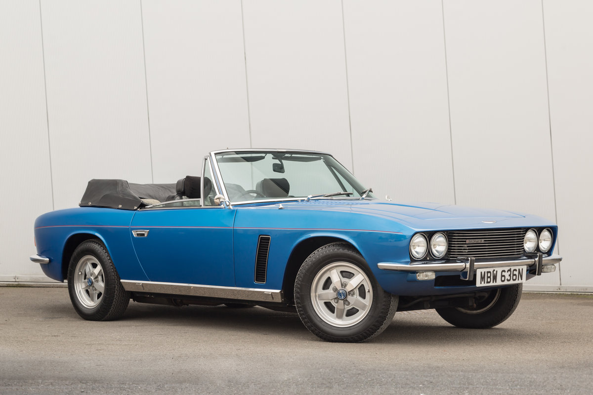 1975 Jensen Interceptor: 7.2 V8 Convertible  For Sale (picture 1 of 6)