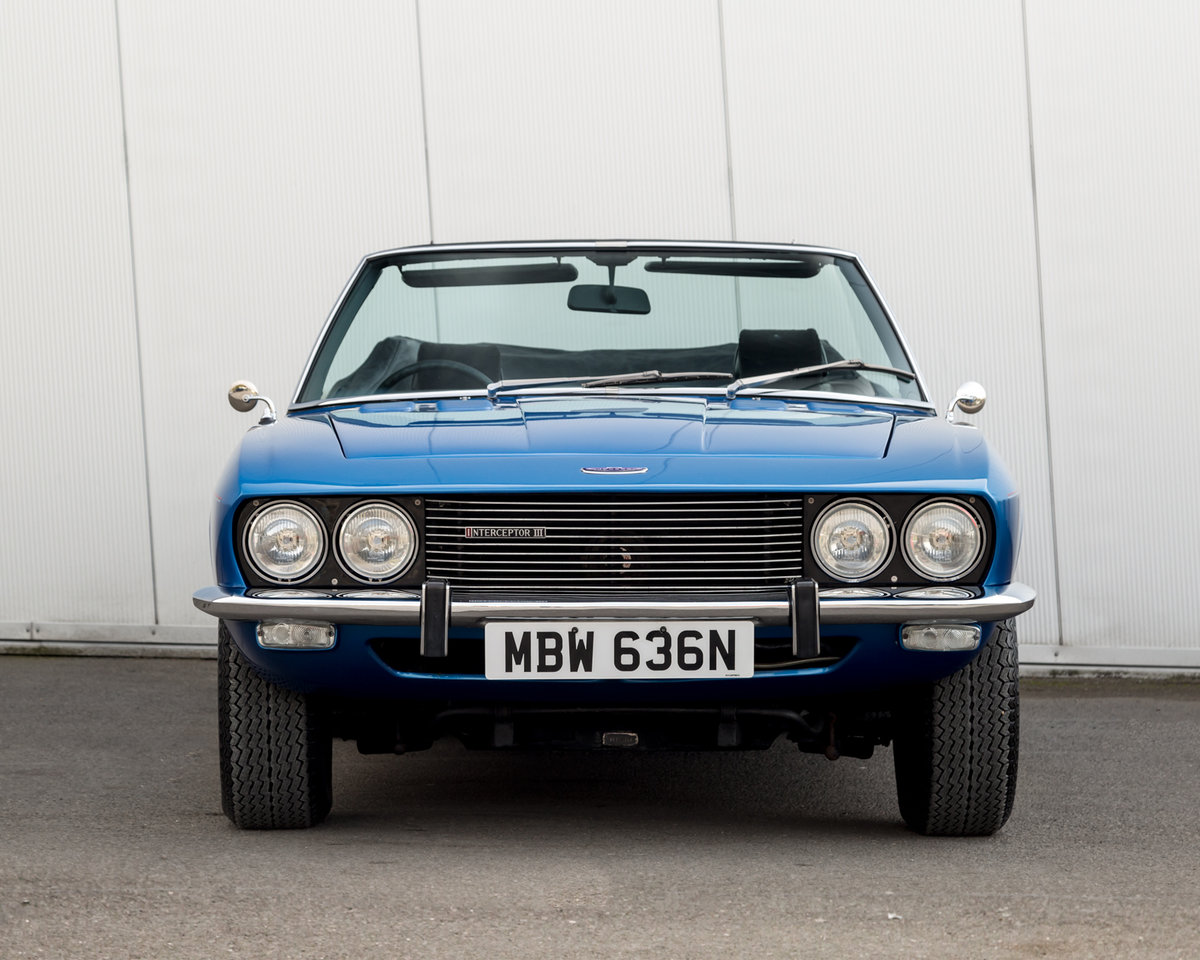 1975 Jensen Interceptor: 7.2 V8 Convertible  For Sale (picture 4 of 6)