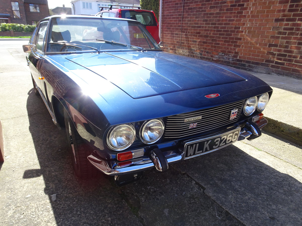Jensen Interceptor MK 1 1968 For Sale (picture 1 of 6)