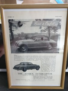 Original Jensen Interceptor Advert