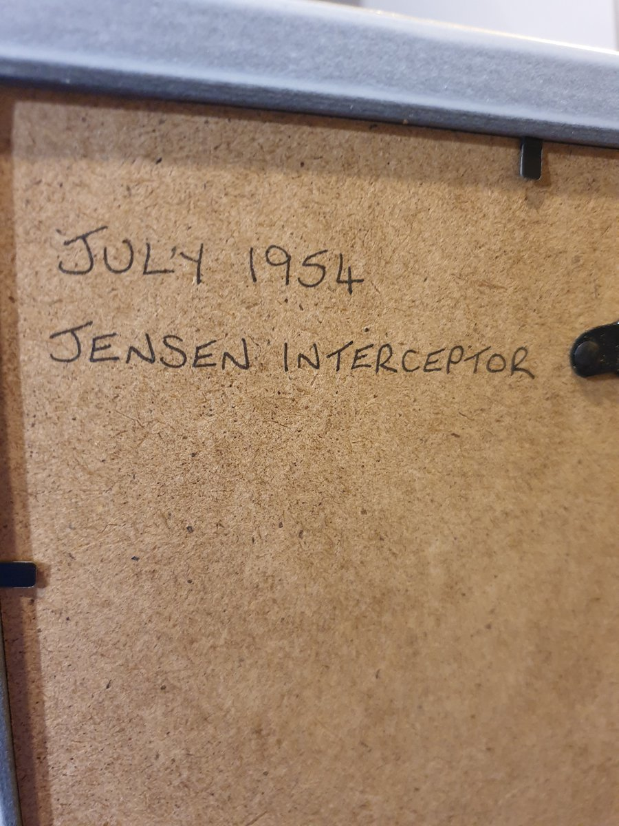 Original 1954 Jensen Interceptor advert For Sale (picture 2 of 2)